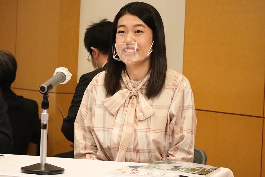 吉本興業のSDGs(持続可能な開発目標)担当に就任した横澤夏子【写真:ENCOUNT編集部】