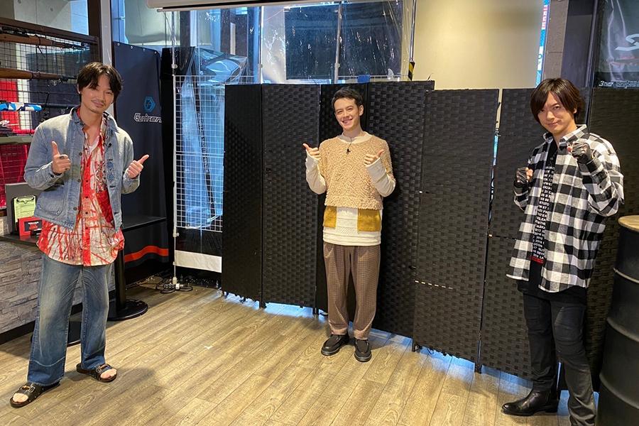(左から)綾野剛、ウエンツ瑛士、DAIGO【写真:(C)日本テレビ】