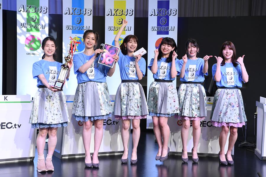 AKB48 e運動会で優勝したチームB【写真:(C)AKB48】