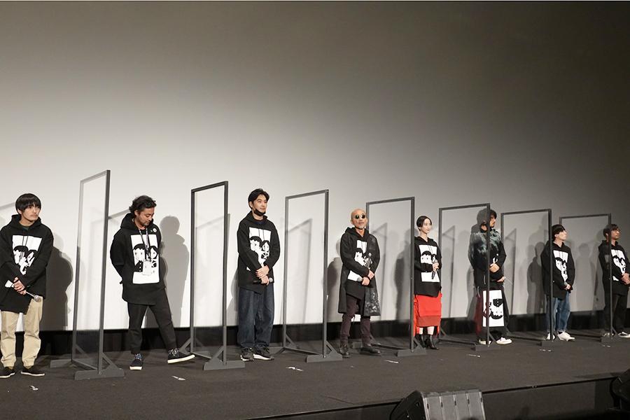 松井玲奈「人生初体験でした」と告白 白塗りスキンヘッドお化け…映画「ゾッキ」で熱演