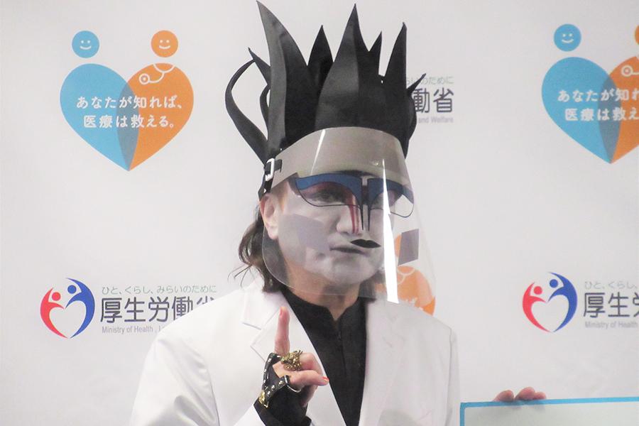 デーモン閣下【写真:ENCOUNT編集部】