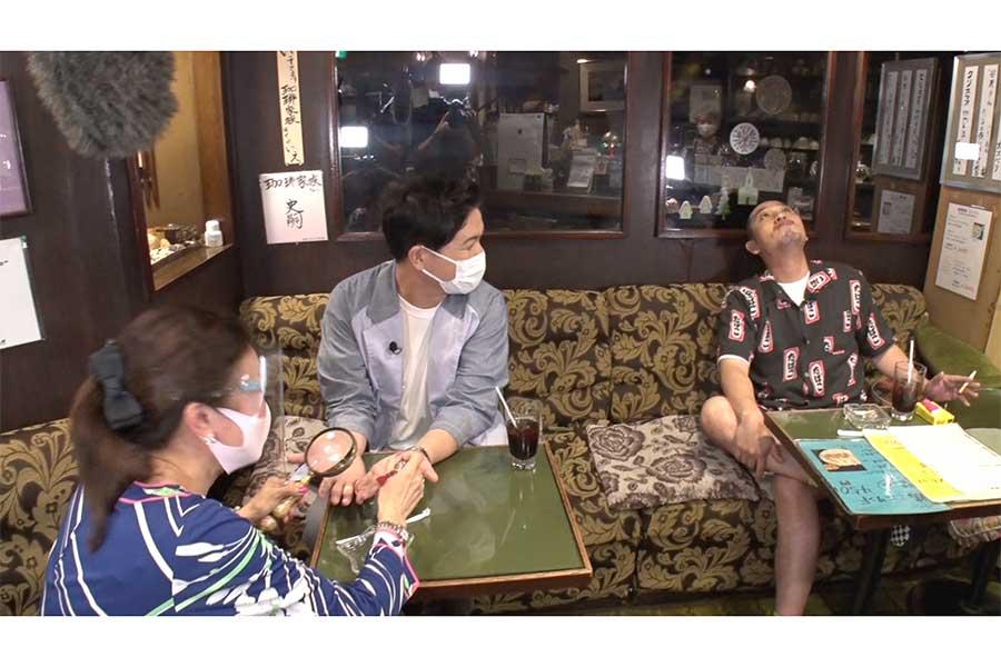 「テレビ千鳥チャンネル」の第2弾の場面カット【写真:(C)テレビ朝日】