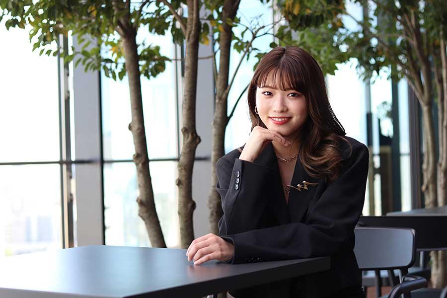 ENCOUNT編集部のインタビューに応じた古田愛理【写真:ENCOUNT編集部】