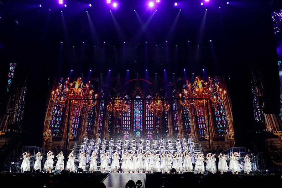 ナゴヤドームで開催した乃木坂46の「8th YEAR BIRTHDAY LIVE」を映像化