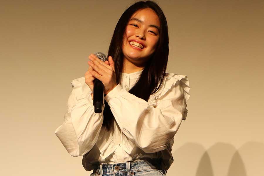 植田雅が主演を務めた「別に、友達とかじゃない」の舞台あいさつに登壇【写真:ENCOUNT編集部】