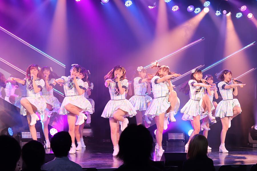 新劇場でゲネプロを行ったHKT48【写真:ENCOUNT編集部】