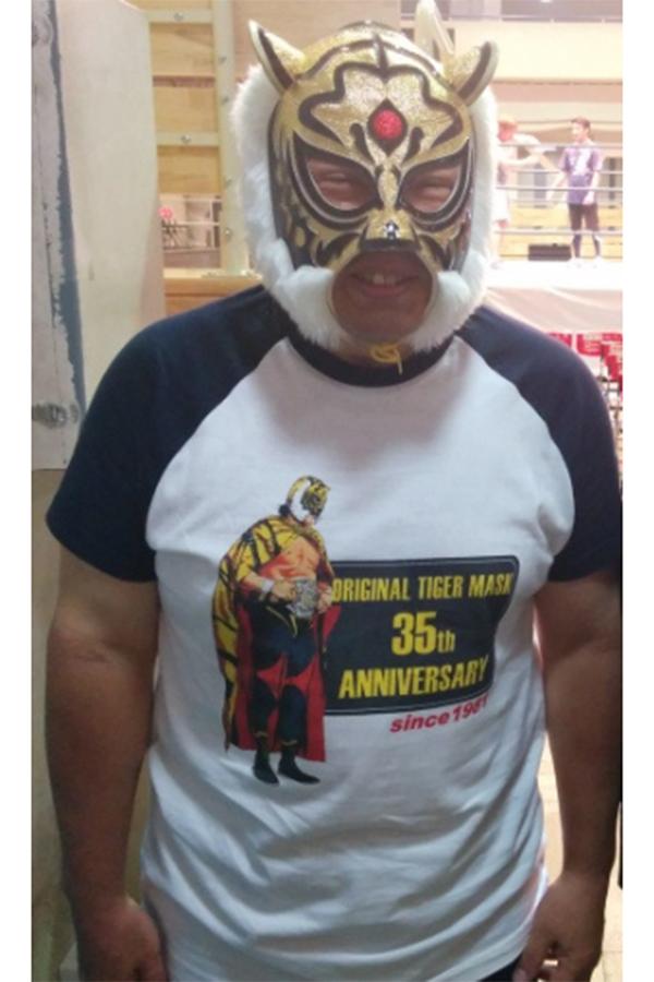 2021年にデビュー40周年を迎える初代タイガーマスク【写真:柴田惣一】