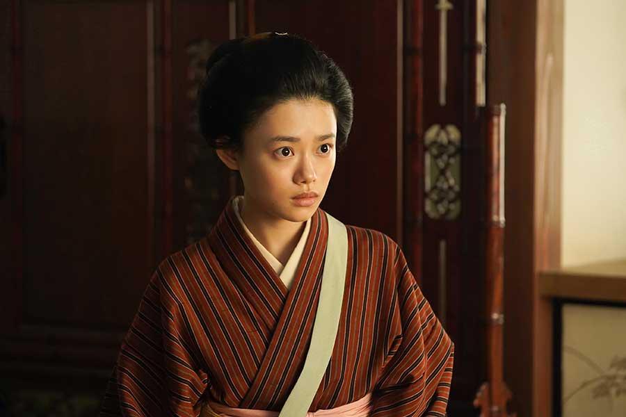 NHK連続テレビ小説「おちょやん」で竹井千代を演じる杉咲花