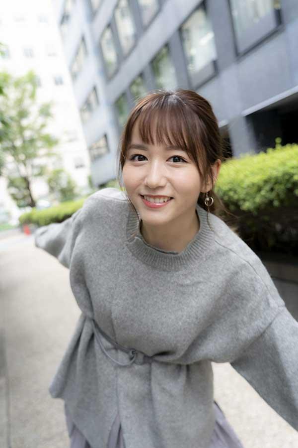 2nd写真集をリリースしたSKE48大場美奈【写真:山口比佐夫】