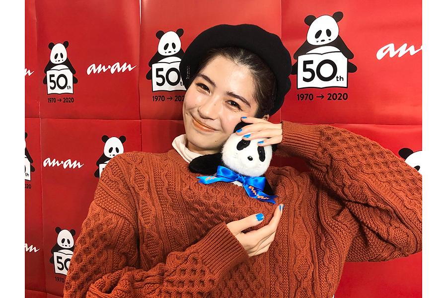 「anan」創刊50周年イベントに佐久間由衣が登場