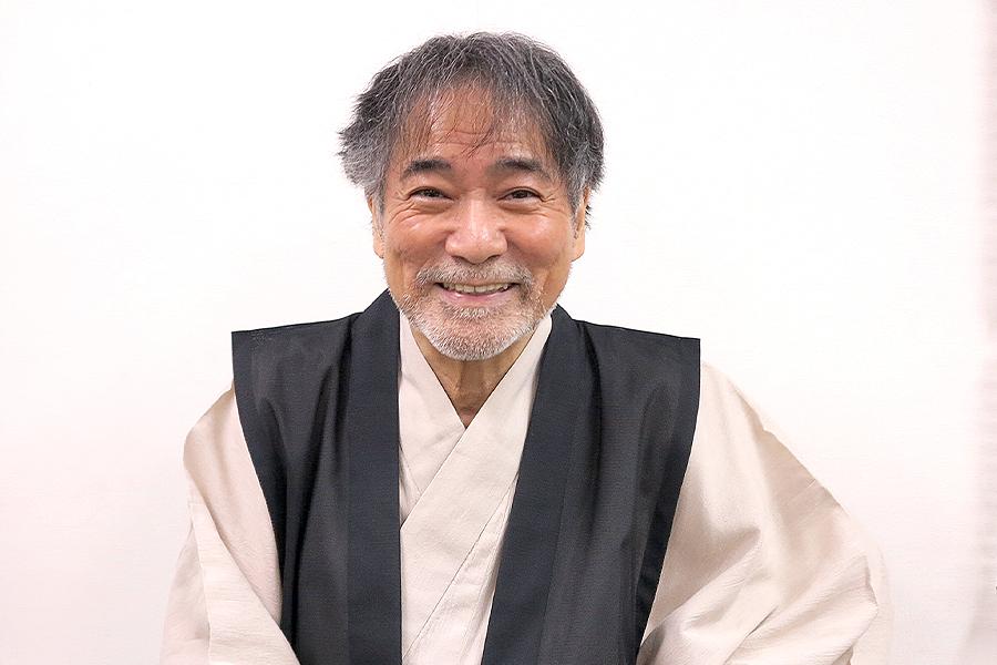 稲川淳二、最終公演終えた直後の笑顔