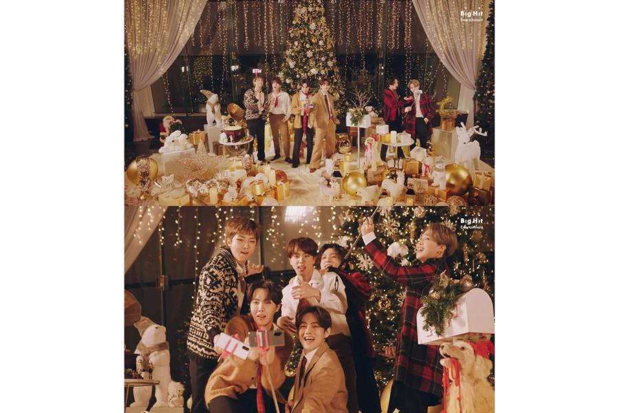 韓国の7人組ボーイズグループBTS【写真:(C)Big Hit Entertainment】