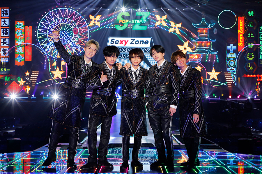 Sexy Zone初の配信ライブがブルーレイ&DVD化