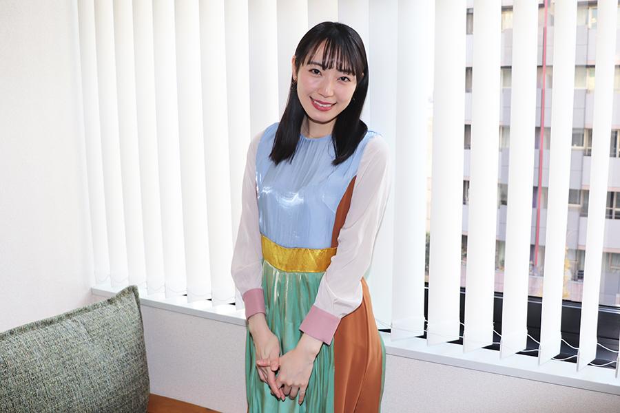 インタビューに応じた松井咲子【写真:ENCOUNT編集部】