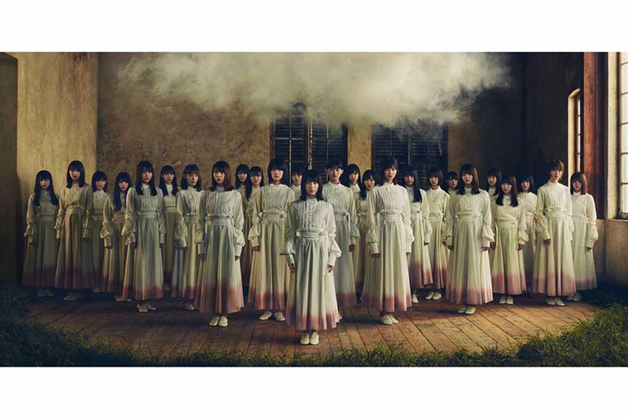 櫻坂46の1stシングル「Nobody's fault」のアーティスト写真