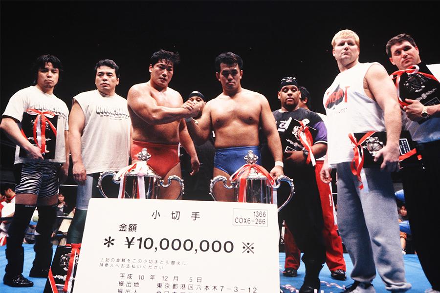 【プロレスこの一年 #23】小橋&秋山組の世界最強タッグ優勝 猪木引退試合と馬場生涯最後のリング 98年のプロレス
