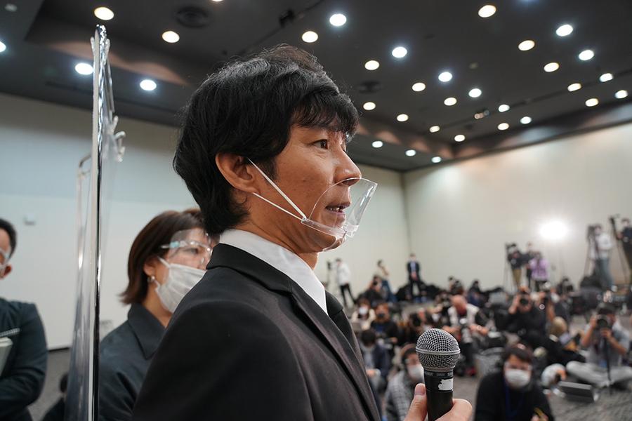 【アンジャ渡部会見全文4】会見に行く前、佐々木希からは「誠心誠意謝罪を」