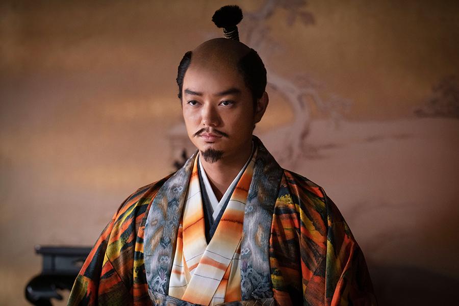 「麒麟がくる」で織田信長を演じる染谷将太【写真:(C)NHK】