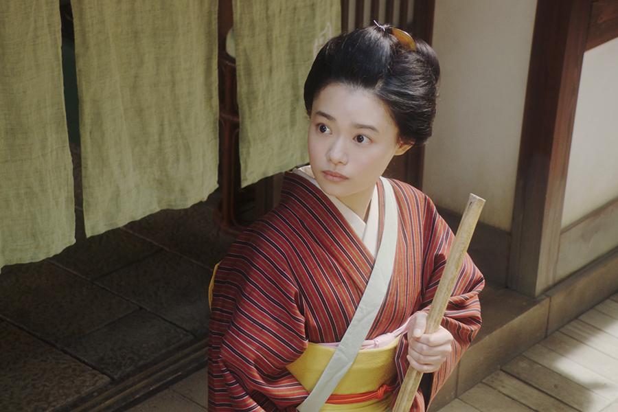 NHK「おちょやん」でヒロインを演じる杉咲花