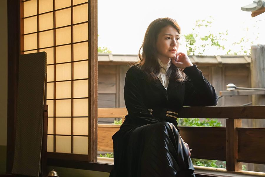 「おちょやん」百合子役の井川遥、スター女優の姿に「自分とは対局にあるよう」