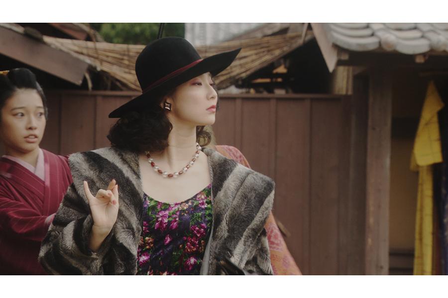 女優役を演じるファーストサマーウイカ【写真:(C)NHK】