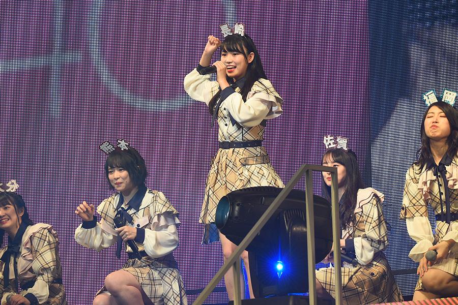 1月に開催された「AKB48グループリクエストアワー セットリストベスト50 2020」に出演【写真:舛元清香】