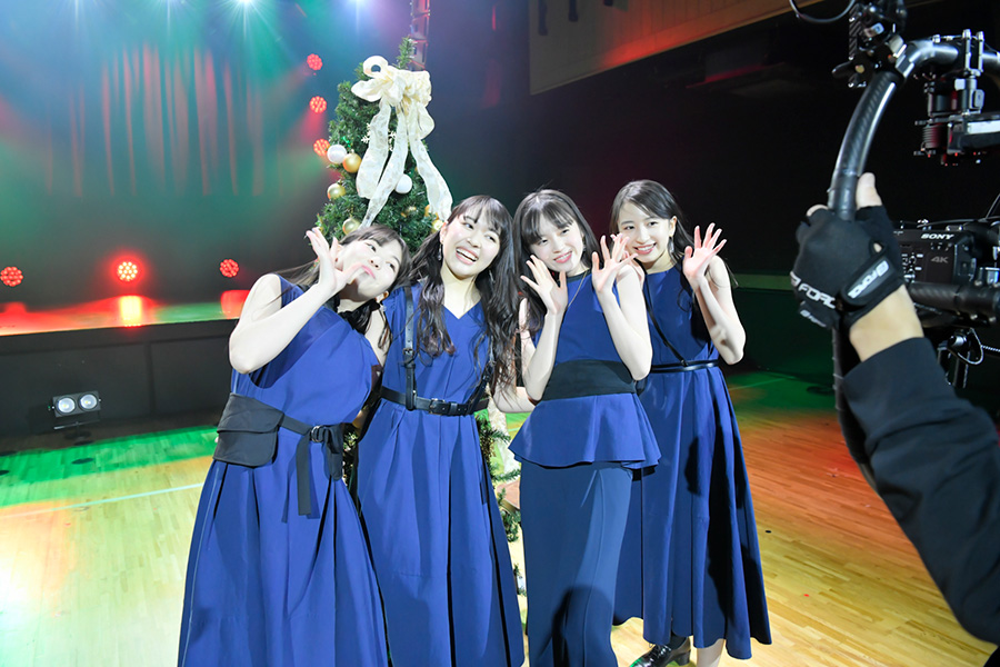 グループ初のクリスマスイベントを開催した@onefive【写真:AZUSA TAKADA】
