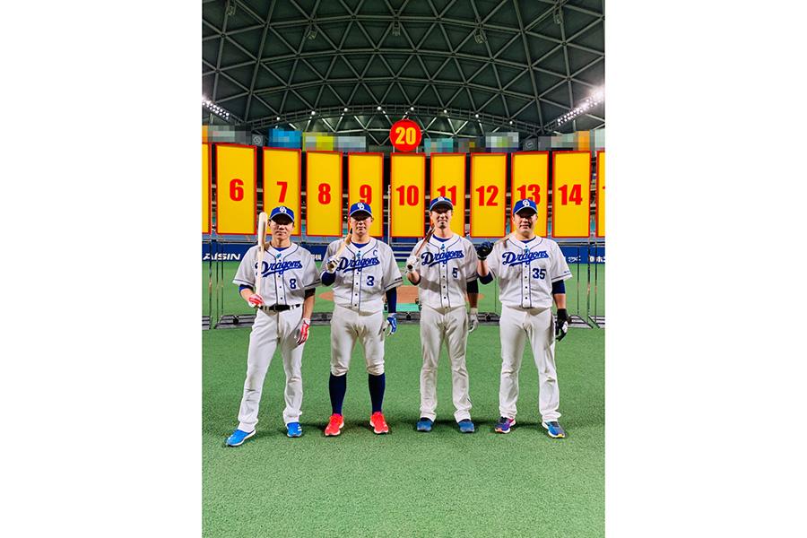 中日ドラゴンズの精鋭4人が初参戦 井戸田潤&SKE48松井珠理奈も応援に駆け付け