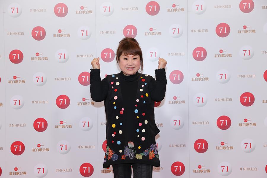 迫力満点の和太鼓パフォーマンスに太鼓判を押した天童よしみ【写真:(C)NHK】