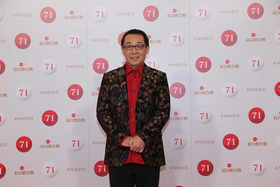 紅白のリハーサルを行ったさだまさし【写真:(C)NHK】
