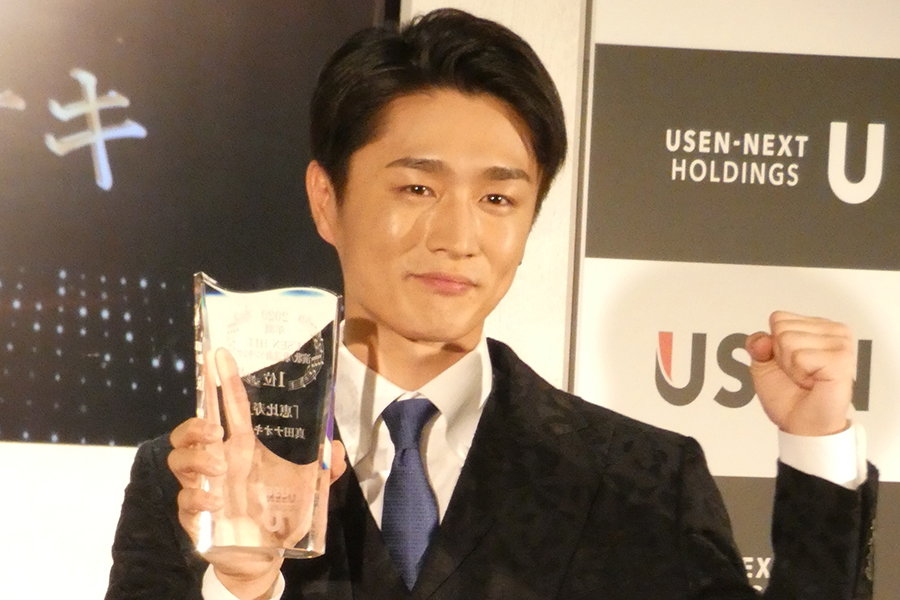 真田ナオキ、「恵比寿」がUSEN演歌・歌謡曲ランキング1位 「来年もこの場に立てたら」