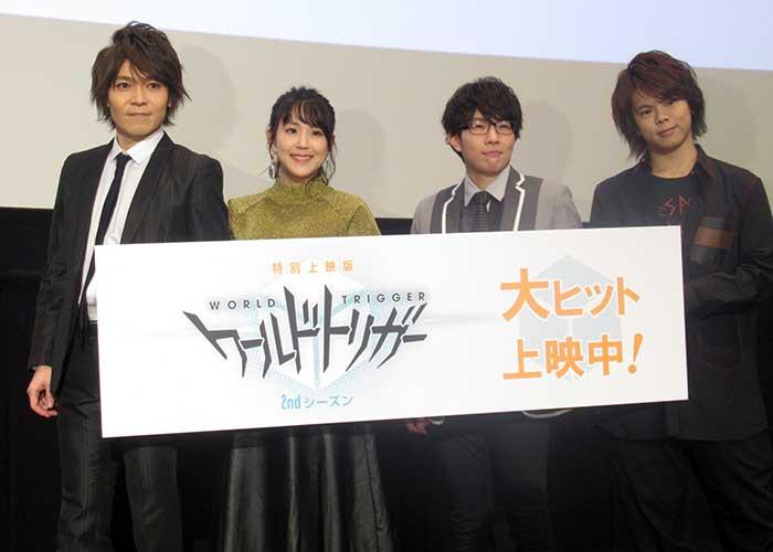 アニメ「ワートリ」2ndシーズン特別上映スタート【写真:ENCOUNT編集部】