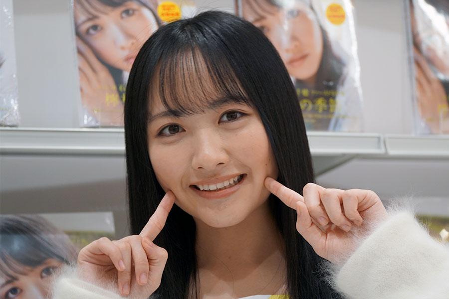 STU48の石田千穂【写真:ENCOUNT編集部】