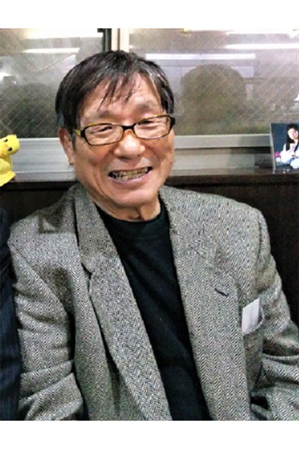 浜田の優しい笑顔には大和魂が秘められている【写真:柴田惣一】