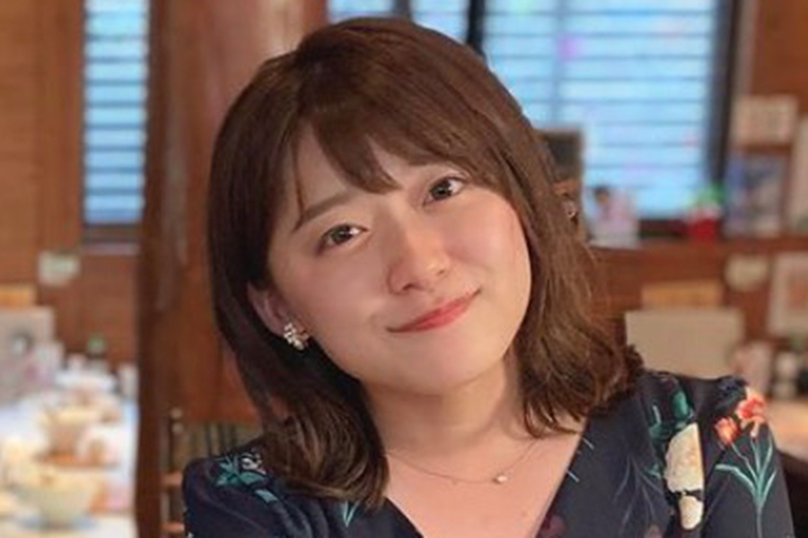 日本テレビの尾崎里紗アナウンサー【写真:インスタグラム(@ozaki.risa)より】