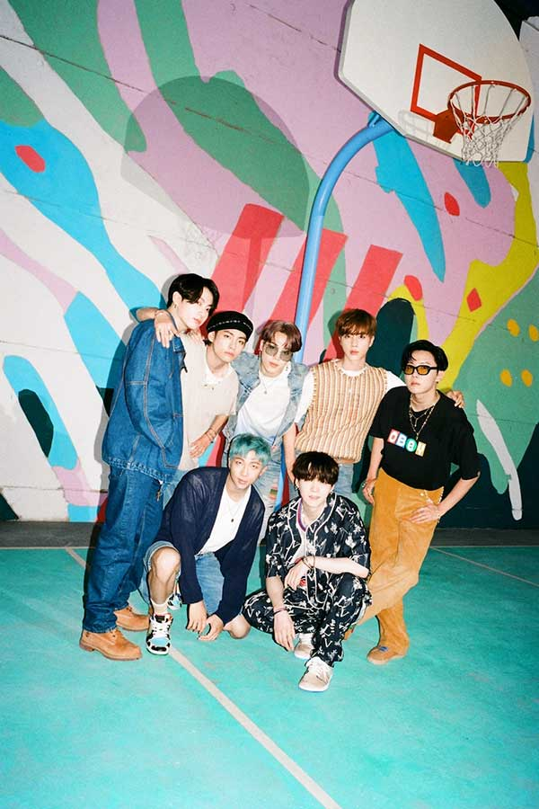 BTS、「Dynamite」が米ビルボード「Hot100」5位【写真:Photo by Big Hit Entertainment】