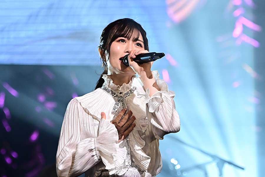 「HKT48」秋吉優花は惜しくも4位、その努力量は48グループでも随一だという【写真:(C)TBS】