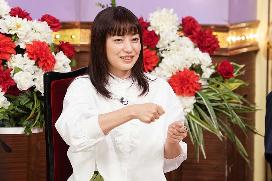 菅野美穂、10年ぶりの「しゃべくり」出演 娘が食事後に始める衝撃行動を告白