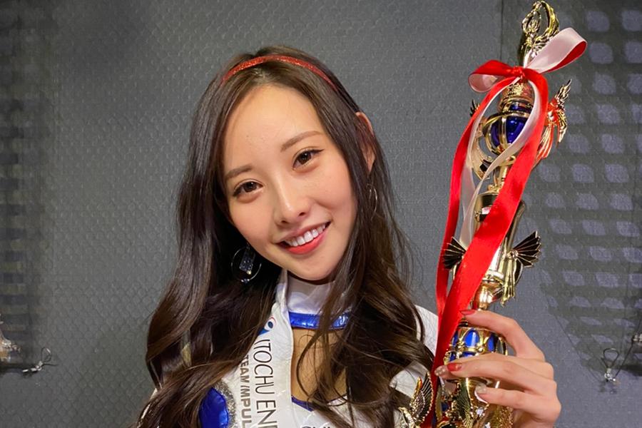 21歳のハーフ美女あのん、レースクイーン大賞で3冠獲得の快挙 輝く美貌に注目