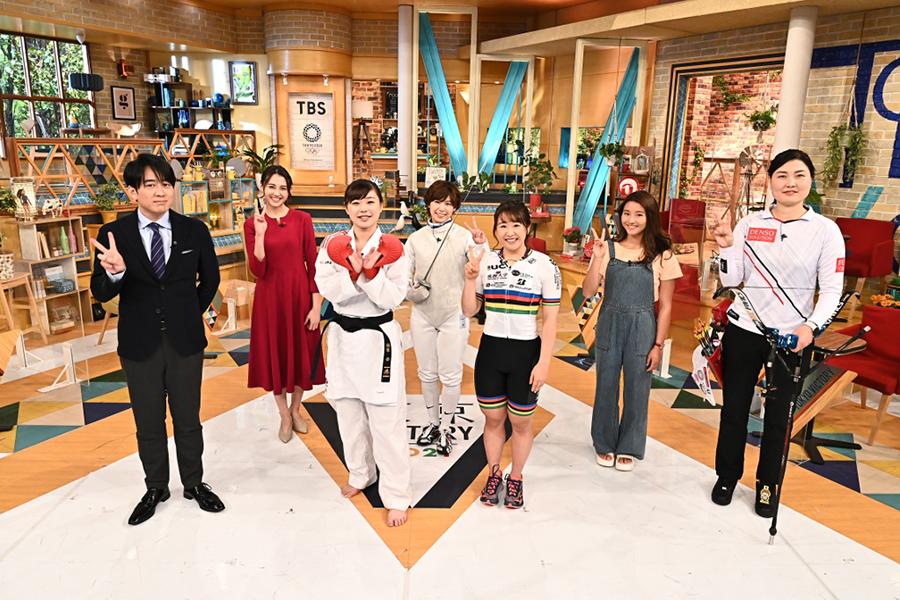 「東京VICTORY」に女性アスリート5人が集結【写真:(C)TBS】