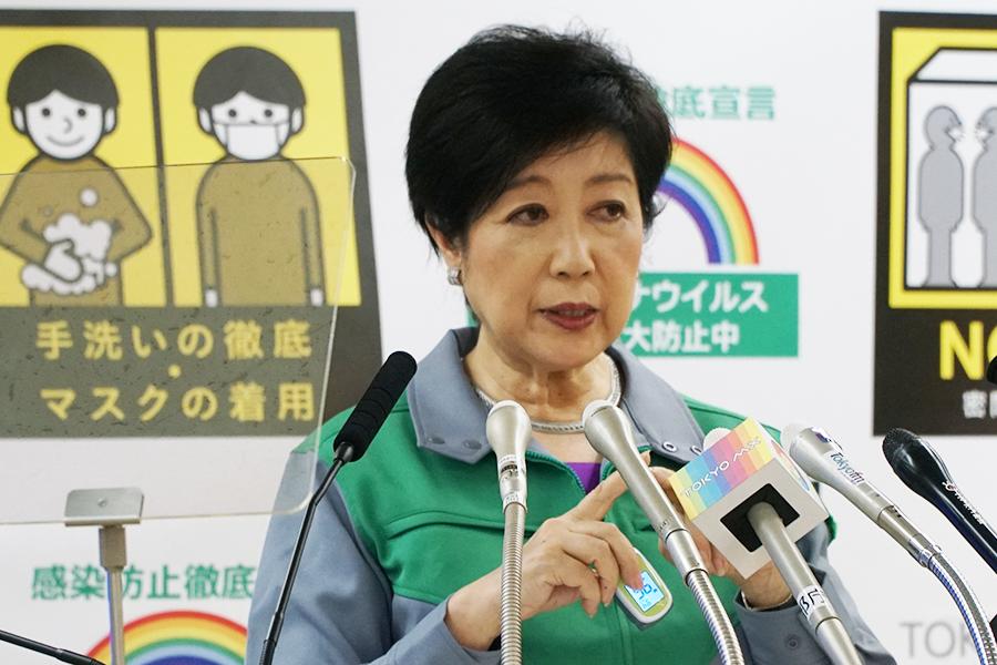 小池都知事、五輪開催は「詰めている状況」 英紙の中止報道には「抗議すべき」
