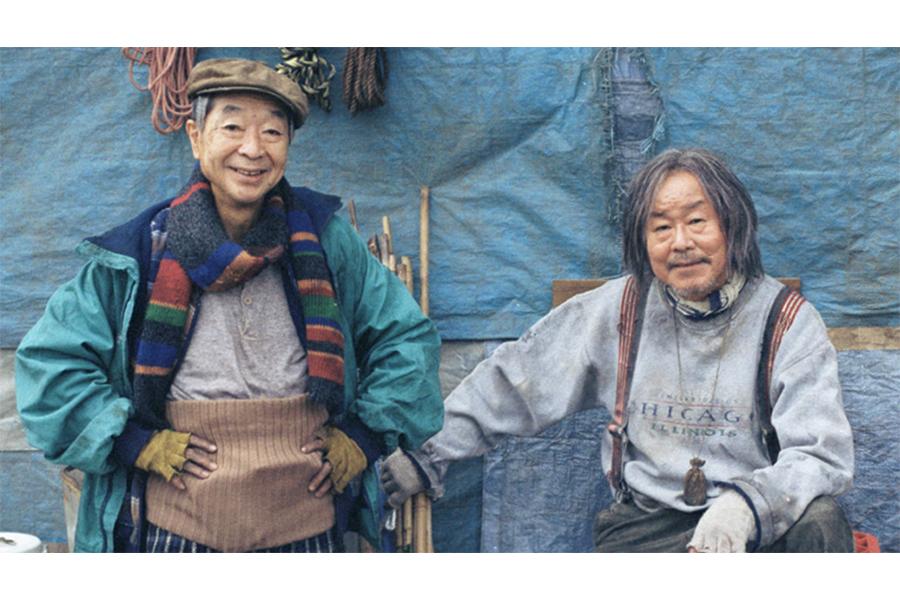 WOWOWオリジナルドラマ「川のほとりで」 綾田俊樹(左)とベンガル