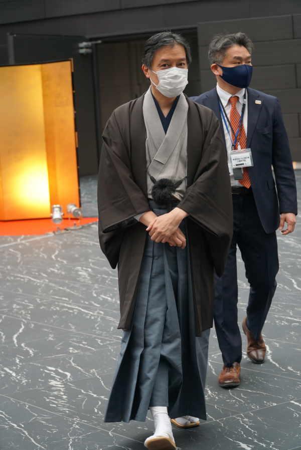吉住健一新宿区長【写真:ENCOUNT編集部】