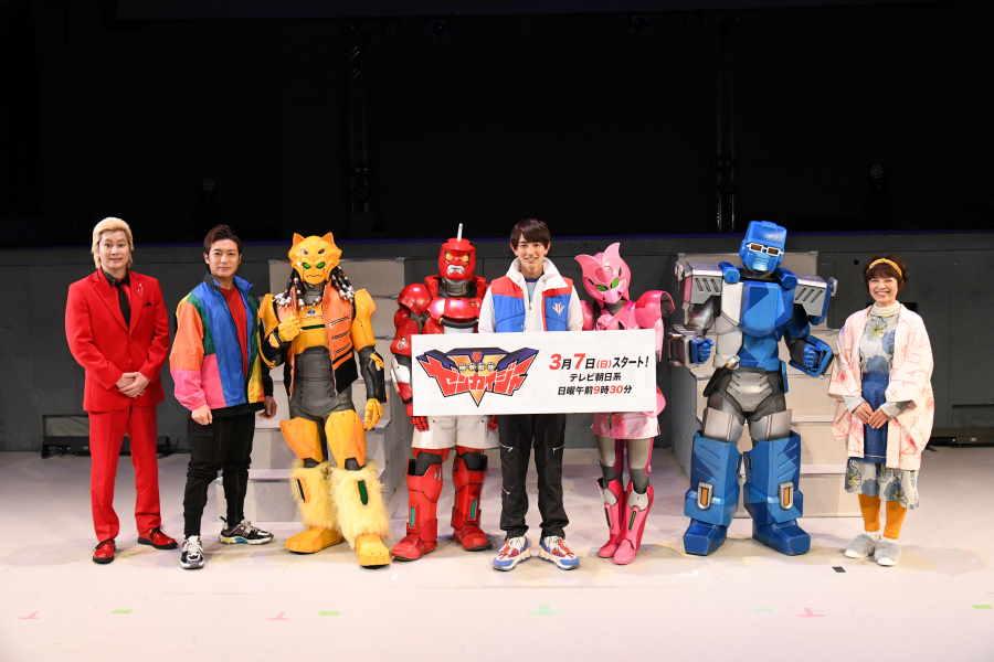 浅沼晋太郎、梶裕貴らが「ゼンカイジャー」でロボヒーローに 「豪華すぎ」「濃い」と話題