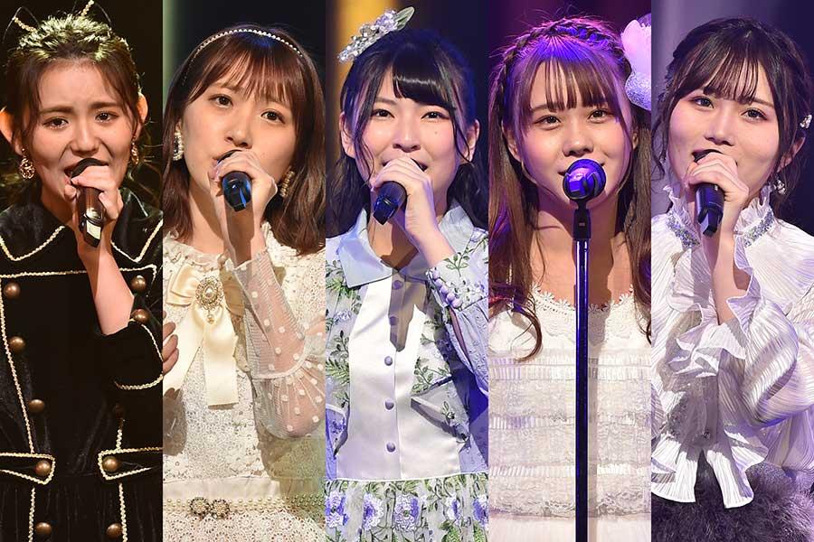 """選曲、組み合わせ、緊張…AKB48グループ""""ガチ歌バトル""""決勝大会第2組の勝負のあや"""