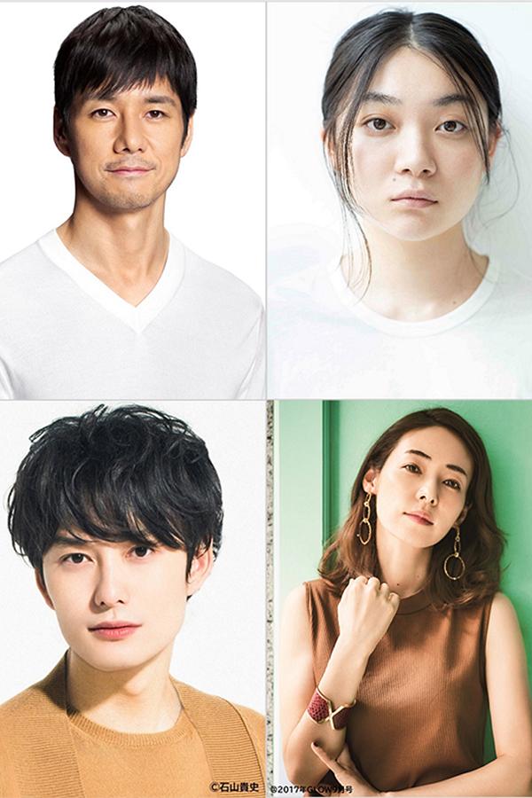 映画「ドライブ・マイ・カー」出演が決まった、西島秀俊、三浦透子、岡田将生、霧島れいか