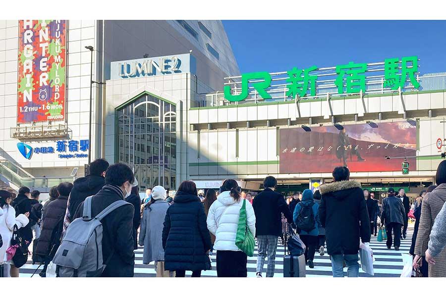 初の週末3連休で1都3県の人出予測 正月に比べ主要駅エリアは大幅増(写真はイメージ)【写真:写真AC】