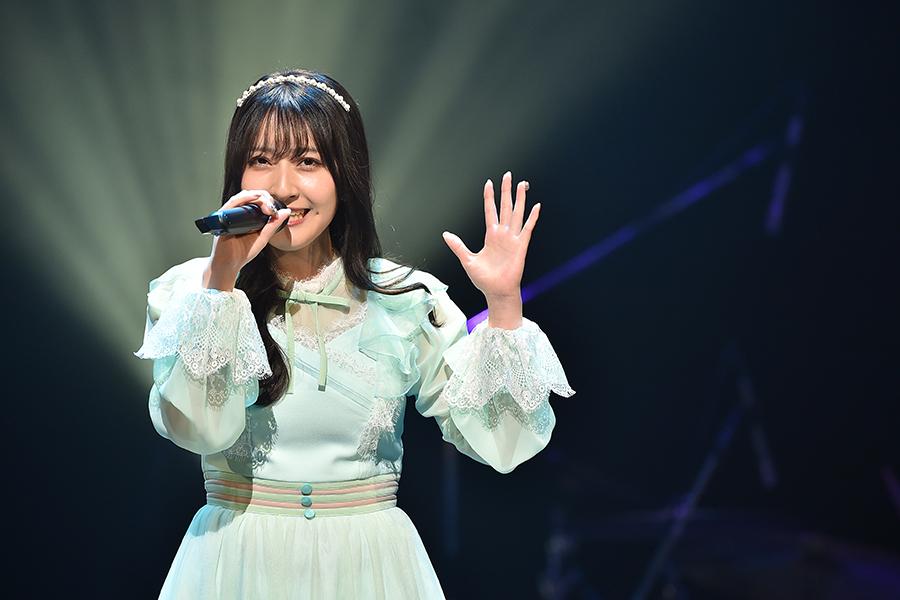 「NMB48」山崎亜美瑠は審査員特別賞でファイナリストLIVE行きが決定【写真:(C)TBS】
