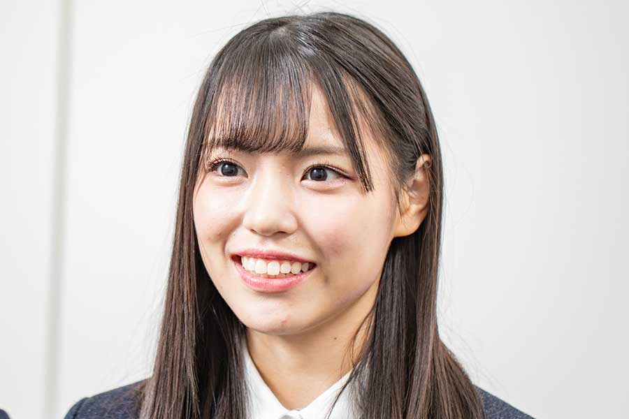 「STU48」の岩田陽菜【写真:ENCOUNT編集部】