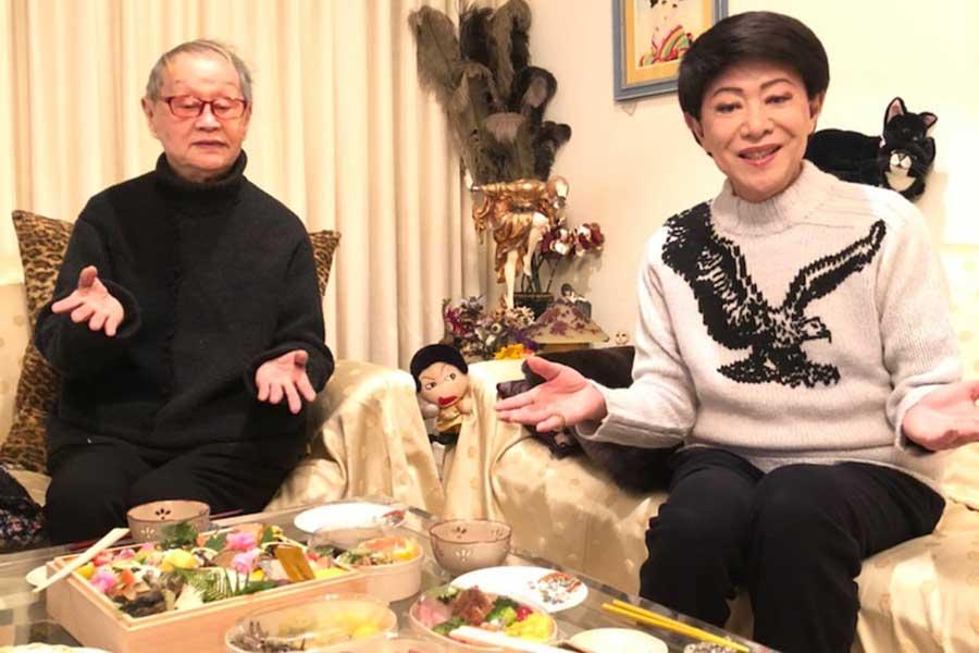 美川憲一、藤あや子からもらったおせちを公開「むっちゃ美味しそうなお節」と反響